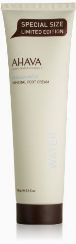 AHAVA Mineral Foot Cream, 5.1 fl oz BUY NOW     $25.88    This rich foot cream softens and renews rough soles of feet and prevents cracks and irritated skin. Powered by our exclusive O ..  http://www.beautyandluxuryforu.top/2017/03/12/ahava-mineral-foot-cream-5-1-fl-oz/