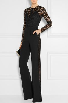 Black lace and cady Hook and zip fastening at back 31% rayon viscose, 21% polyamide, 20% cotton, 17% acetate, 10% silk, 1% elastane; lining: 100% silk Dry clean Made in Italy