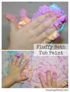 Fluffy Bathtub Paint