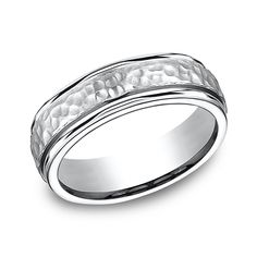 Forge Cobalt Comfort-Fit Design Wedding Band CF67502CC06 | Vandenbergs Fine Jewellery | Winnipeg, MB