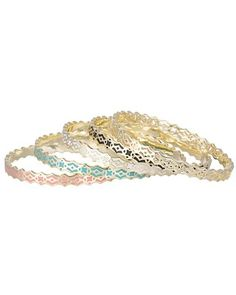 Mollie Bangle Bracelets in Multi-Color Morocco - Kendra Scott Jewelry. Coming soon!