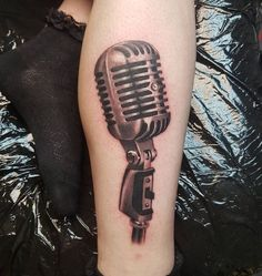 Made by Patryk Mazur Tattoo Artists in Wales, UK Region Mic Tattoo, Wrist Tattoo Cover Up, Drum Tattoo, Cover Up Tattoos, Car Tattoos, Dope Tattoos, Body Art Tattoos, Sleeve Tattoos, Tattoos For Guys