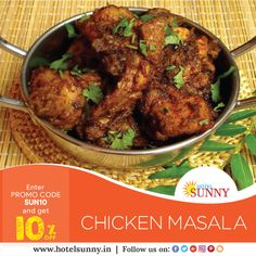 ORDER ONLINE & GET 10% OFF Website - www.hotelsunny.in For reservation:2522-5616/3549  #hotelsunny #tasteofmumbai #offer #keralafood #tasteofkerala #mumbai #mymumbai #food #foodie #yum #yummy #orderonline #homedelivery #delivery #fooddelivery #mouthwatering #relish #bandra #dadar #kurla #bkc #keralachicken #chickenmasala