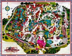 Astroworld Map! Houston, TX  :-) Q