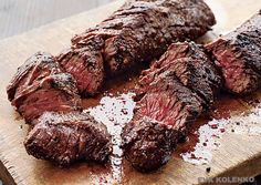 Only one available! The #Butcher's Steak (aka #Hanger Steak) gets its name for butchers who used to hold the flavorful cut back for themselves as opposed to offering it for sale- there's only one per animal! It's great for broiling, grilling, or sauteing. Accompanied by a beautiful Round Roast, 2 Round Steaks, a Shank Steak, and Premium Ground Beef. 1 Hanger Steak - a cut not commonly found in the meat case 1, 3.5lb Round Roast 2 8oz Round Steaks 2, 1.5lb Shank Cross Cut Steak (bone-in) 2lbs…