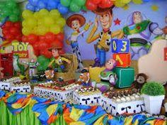 Resultado de imagen para decoracion de toy story fiesta
