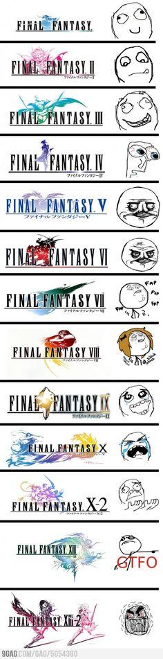 Final Fantasy reactions