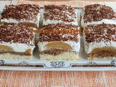 Koláče na plechu Krispie Treats, Rice Krispies, Tiramisu, Cheesecake, Ethnic Recipes, Food, Basket, Cheese Cakes, Eten