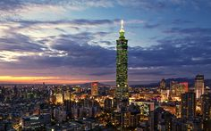 The Taipei 101 was officially classified as the world's tallest skyscraper in 2004. Rich with symbolism and tradition, Taipei's iconic landmark is a standing monument to feng shui and modern design.