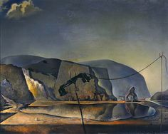 Salvador Dalí: 'Mountain Lake'  1938