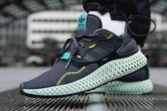 low priced 52a7b d5283 adidas Consortium s ZX4000 4D Goes To The Dark Side With
