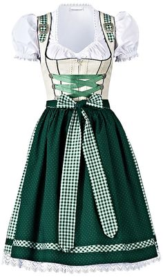 SET: Kurzes Dirndl mit Bluse, - 506274 @ neckermann.at