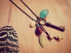 Bohemian Key necklace
