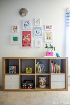 We converted from toddler montessori to preschool montessori bedroom. Coastal Master Bedroom, Baby Bedroom, Girls Bedroom, Bedroom Decor, Lego Bedroom, Childs Bedroom, Kid Bedrooms, Girl Rooms, Bedroom Ideas