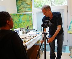 Artists' Studios – Bohonus VR Photography