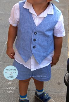 Isabel from La vie en DIY is here to discuss her favorite Oliver + S pattern, the Art Museum Vest.