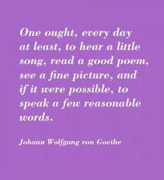 Goethe.