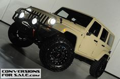 2011 Jeep Wrangler Unlimited Kevlar Coated Lifted Jeep