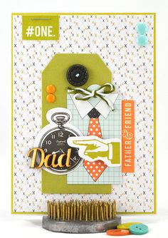 This happy birthday card for dad will show him how special he is and that he's the #1 dad in the world to you. Imagine how happy your dad will be when he opens the envelope to find that you chose this wonderful masculine birthday card just for him. It's definitely a keepsake for him to treasure for years to come. #thecardkiosk