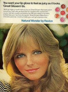 Great Glissers by Revlon - Cheryl Tiegs 1972