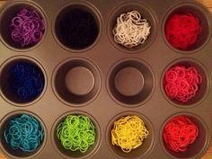 3000 Rainbow Loom Bands Refill Assortment  More by lovieducks, $34.00 Organization idea