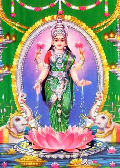 Goddess Laxmi (via God Photos)
