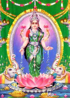 Goddess Laxmi (via God Photos)