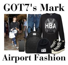 """""""GOT7's Mark ~ Airport Fashion 