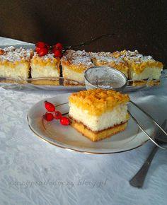 Styropian (ciasto sernikowe bez sera) PRZEPIS