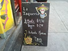 La Taqueria on Hastings just across form Dresssew.   I hear the one on Cambie by broadway is also amazing!