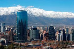 santiago do chile Seattle Skyline, New York Skyline, National Geographic, San Francisco Skyline, Places Ive Been, Beautiful Places, To Go, Mountains, World