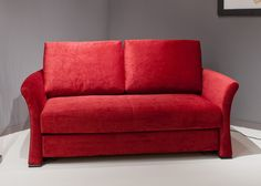 Schlafsofa mit Bettkasten Alice 5900. Buy now at https://www.moebel-wohnbar.de/schlafsofa-mit-bettkasten-alice-schlafcouch-funktionssofa-rot-5900.html