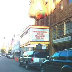 The Historic Alabama Theatre in Downtown Birmingham, Alabama.