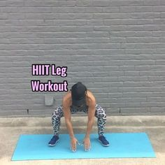 """12.7k Likes, 262 Comments - Carmen Morgan (@mytrainercarmen) on Instagram: """"HIIT Leg Workout Get ready to feel the burn!! - 20 Sec ea Move, 10 Sec rest in btwn each - 3-5…"""""""