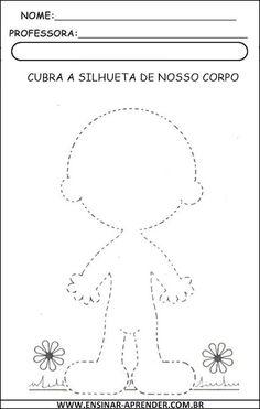 ATIVIDADES ESQUEMA CORPORAL | Cantinho do Educador Infantil