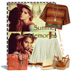 """""""summer memories"""" by denizimu on Polyvore"""