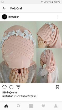 Shawl shape – Best Of Likes Share Bridal Hijab, Hijab Wedding Dresses, Hijab Bride, Girl Hijab, Hijab Style Dress, Hijab Outfit, Abaya Fashion, Muslim Fashion, Hijab Style Tutorial