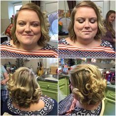 Maid hair and make up