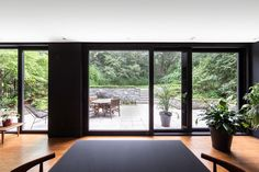 Our unparalleled fabrication process and structural integrity of our windows allow you to achieve panoramic views without traditional limitations. La Shed Architecture, Sound Proofing, Patio Doors, Windows And Doors, Home Renovation, Ideal Home, Facade, Interior Design, Parfait