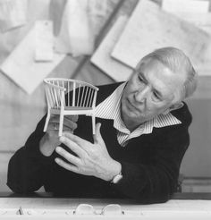 Hans Jørgensen Wegner, (April 2, 1914 - January 26, 2007), was a world renowned Danish furniture designer. His high quality and thoughtful work, along with a concerted effort from several of his manufacturers, contributed to the international popularity of mid-century Danish design. His style is often described as Organic Functionality, a modernist school with emphasis on functionality.