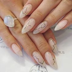 25 Constellation Manicures That Are Positively Stellar
