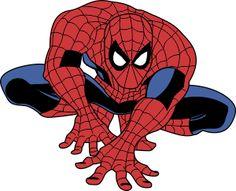 Homem aranha vetor Marvel verores grátis