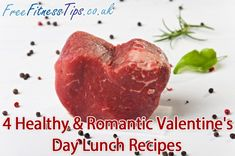 Healthy Lunch Recipes | Healthy & Romantic Valentine's Day Lunch Recipes | Free Fitness Tips