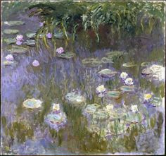 Claude Monet Poster - Water Lilies
