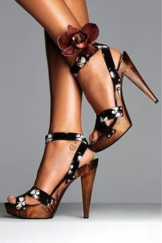 If I MUST wear platforms... These would be in the running!