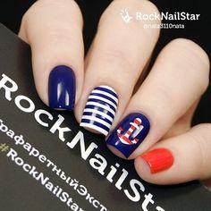 Совсем скоро пора отпусков, а это значит пора придумывать пляжный маникюр!  Вот пример отличного дизайна с помощью трафаретов Rocknailstar Море от @nata3110nata. Спасибо, Наташа #Rocknailstar #трафаретныйэкстаз  Купить Rocknailstar.ru  Rocknailstar nail stencils Sea by @nata3110nata Worldwide shipping, PayPal  Rocknailstar.ru  Or international Stockists More swatches #rocknailstar #трафаретныйэкстаз  #тегсообществанейлру #maniinsta#macronails #лакоманьяк #nailartwow#nailnation #na...