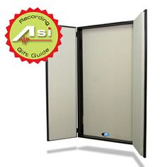 An acoustical treatment designed specifically for artists whose instrument is their voice, the FlexiBooth™ is a full size 2′x4′ wall-mounted acoustic cupboard that opens to surround the voice talent and create a 16 cubic foot voice-over zone.