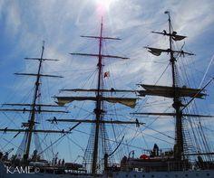 Tall Ship leaving Duluth, MN