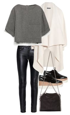 """Untitled #3178"" by bubbles-wardrobe ❤ liked on Polyvore featuring Yves Saint Laurent, Alexander McQueen, Zara, STELLA McCARTNEY, women's clothing, women, female, woman, misses and juniors"