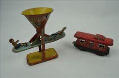 J. Chein & Co. Tin Litho Sand Toys